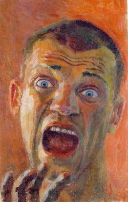 Autoportree (Hirm) 1954. Õli